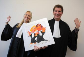 Maikel & Linda Rubens advocatuur 10 jaar